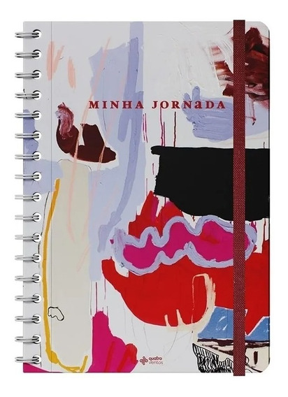 Planner Minha Jornada Artística Junia E Priscilla Subira