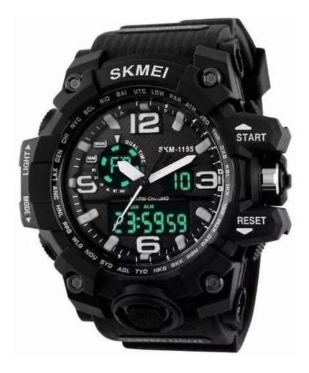 Relógio Militar Skmei S-shock Analógico Digital Pd