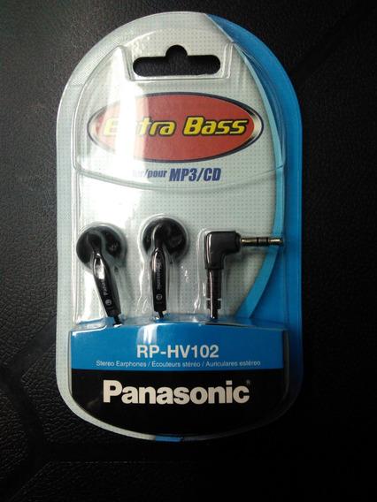 Audífonos Panasonic Rp-hv102 Extrabass & Mq Bix 5vrds
