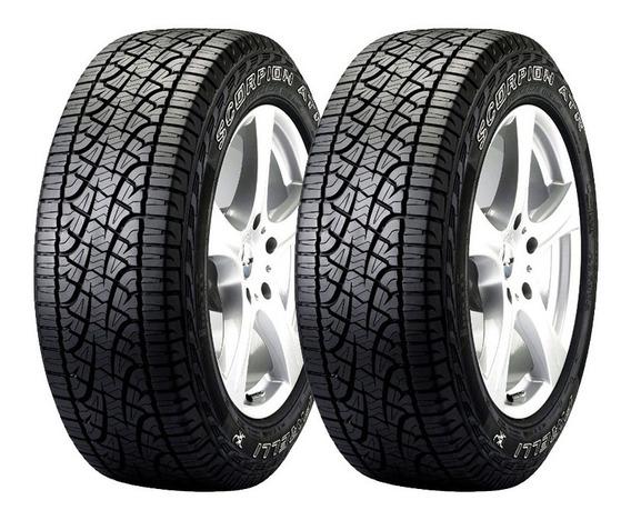 Kit 2 Neumaticos Pirelli Scorpion Atr 255/60 R18 112t Cuotas