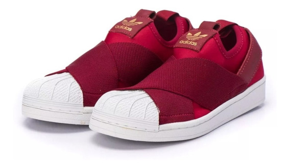 Tênis Casual Unissex adidas Superstar Slip On