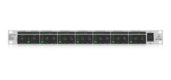 Mixer De 8 Canais Ultralink Pro Behringer Mx882 Novo-nota