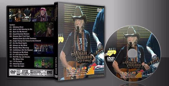 Dvd Willie Nelson - Live Farm Aid 2016