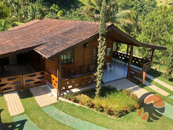 Sítio Com 4 Dormitórios À Venda, 8035 M² Por R$ 650.000,00 - Pau D`óleo - Guarapari/es - Si0053