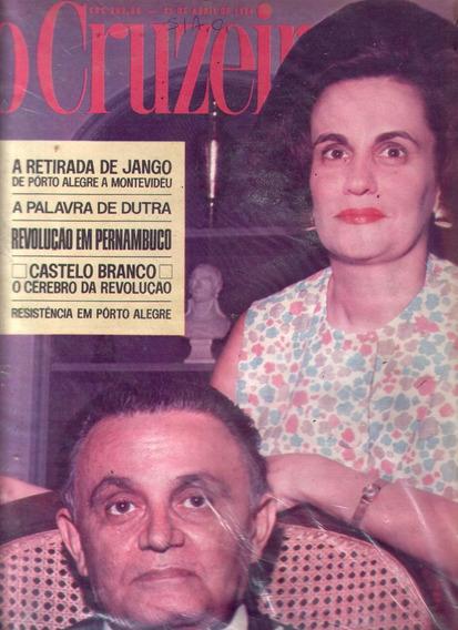 O Cruzeiro 1964.jango.dutra.revolução Em Pernambuco.arraes