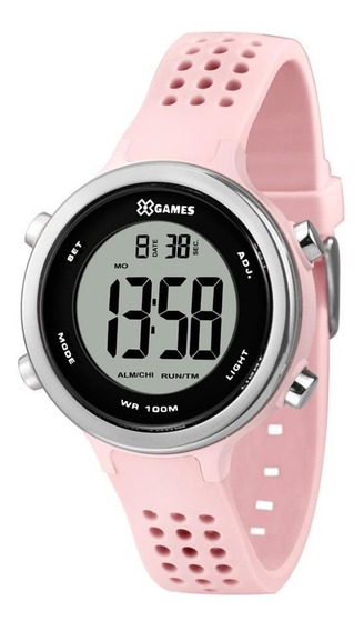 Relógio Esportivo Feminino X-games Xkppd069 Rosa / Cromadp