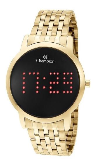 Relógio Feminino Dourado Digital Prova D