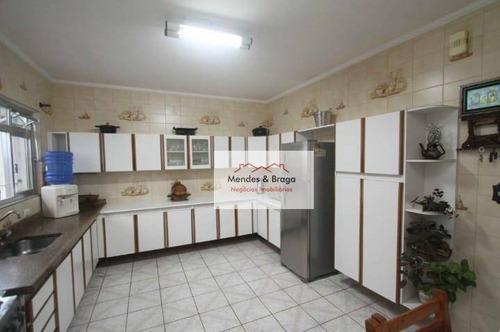 Casa Com 3 Dormitórios À Venda, 206 M² Por R$ 680.000,00 - Jardim Las Vegas - Guarulhos/sp - Ca0090