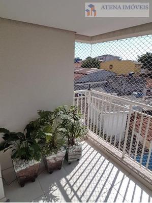 Excelente Apartamento No Condomínio Flowers Residence Com 03 Dormitórios (1 Suíte), Lazer Completo. - Ap1056
