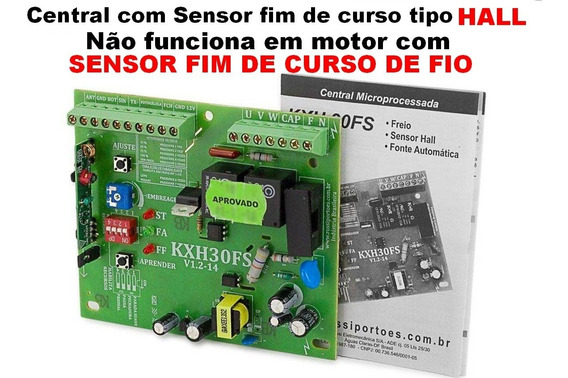 Central Placa Rossi Kxh30 Sensor Hall Dz3 Dz4 Nano