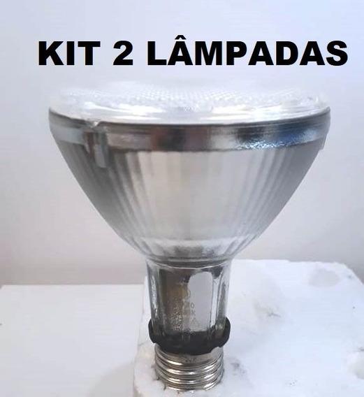 Kit 2 Lâmpadas Vapor Metalico 70w Cdmr - Par30 Da Flc