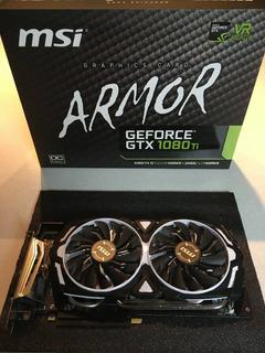 Msi Nvidia Geforce Gtx 1080 Ti Armor Oc 11gb