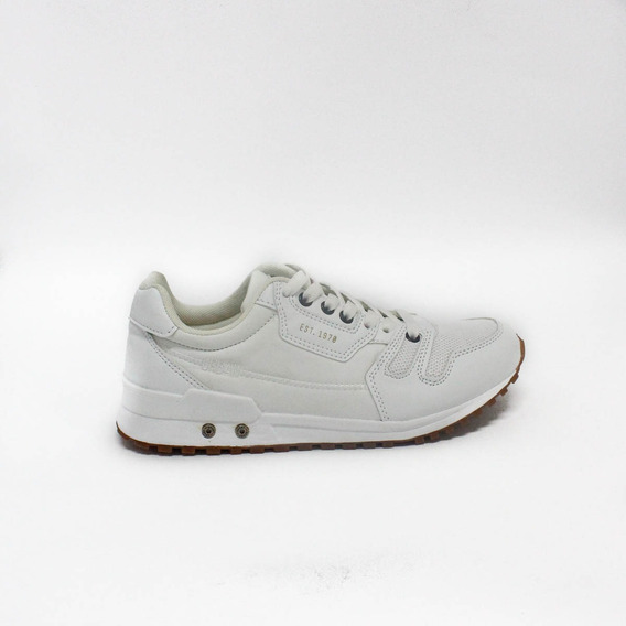 Zapatillas Para Mujer Clasicas Urban Riva White - Blanco