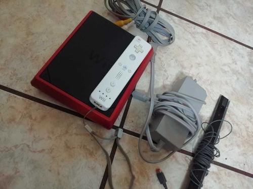 Wii Mini En Perfecto Estado, Con Todos Sus Cables, Un Contro