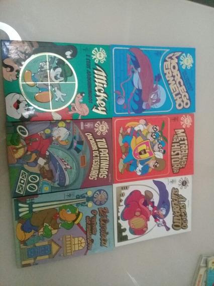 Lote Gibis Edição De Luxo Walt Disney C/ 6 Unid