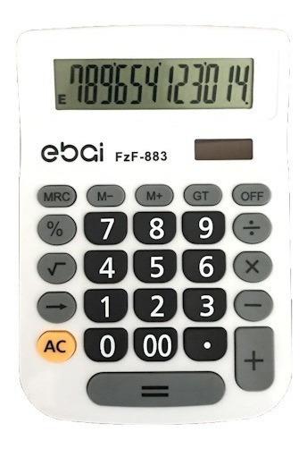 Calculadora Eletrônica 12 Dígitos Clássico Escritório Mesa