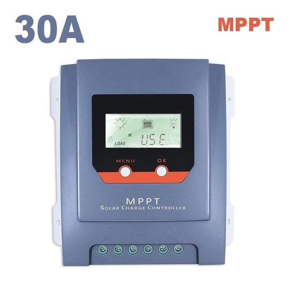 Controlador De Carga Solar 30a Mppt 99,9% ( Modelo Novo )