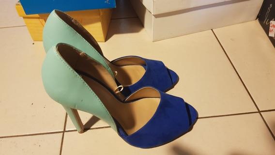 Zapatos Mujer Stilettos [ Zara Basic] [talle 38 Mujer]