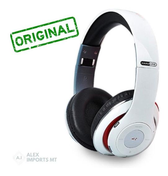 Fone De Ouvido Bluetooth Com Microfone Hardline Tm-10