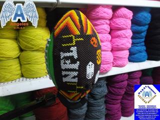 Balón Futbol Americano Nfl Wilson Con Chaquira Arte Huichol