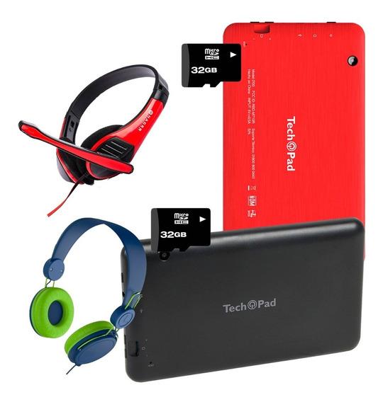 Tablet Techpad I700 8gb + Sd 32gb + Diadema Oferta 2x1