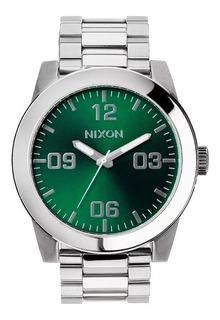Reloj Nixon Corporal Ss Green Sunra Hombre A3461696