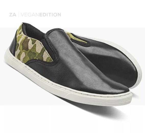 Sapatênis Masculino Mocassim Sapato Casual Camuflado Zalupe