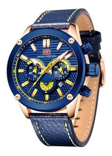 Reloj Mini Focus 0288 Oa Deportivo Silicona Cronografo Caja