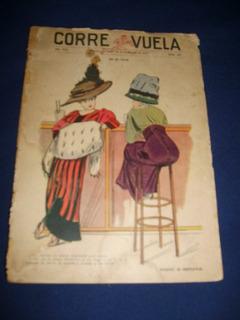 Antiguedad Revista Corre Vuela De 1915 Para Coleccionistas