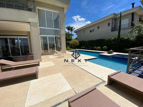 Casa Com 5 Suites À Venda, 1000 M² No Residencial Tamboré 10 Em Alphaville - Santana De Parnaíba/sp - Ca0716