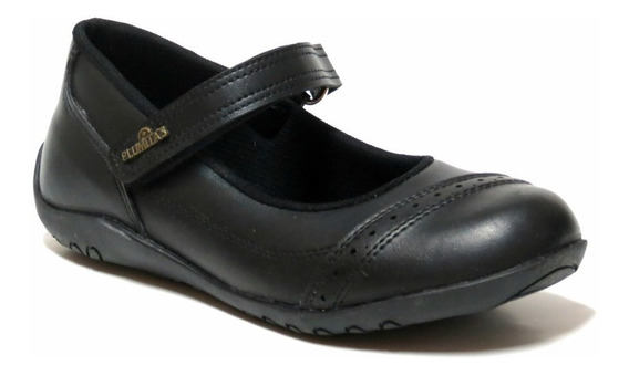 Zapatos Niñas Colegial Guillermina Plumitas 27 Al 33 3891