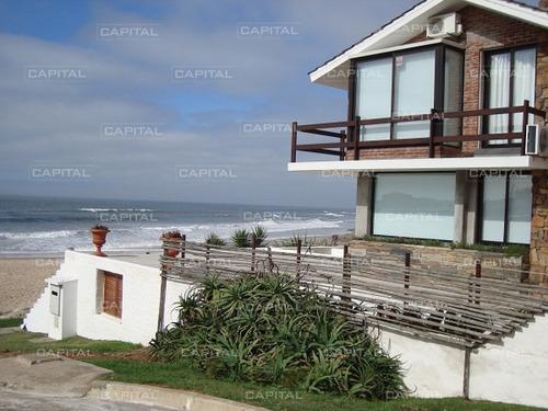Casa Sobre El Mar La Barra + 3 Dormitorios-ref:27065