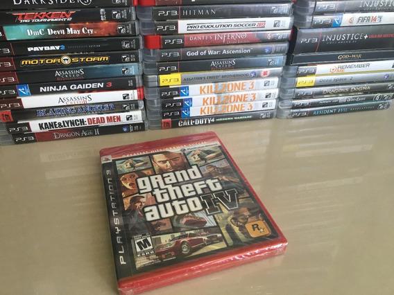 Gta 4 Grand Theft Auto Iv - Playstation 3 - Lacrado