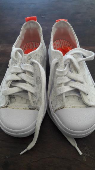 Zapatillas Topper Colegial Como Nuevas