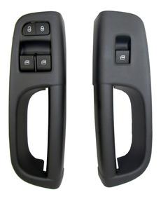 Botao E Moldura Puxador Vidro Gol G5 G6 G7 Modelo Original