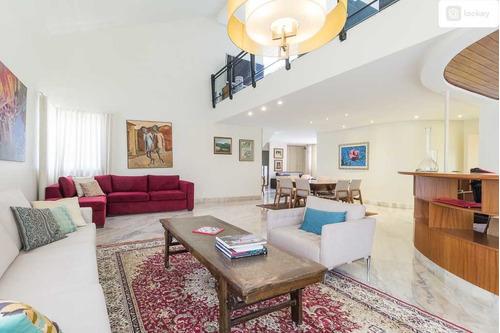Aluguel De Apartamento Cobertura Com 440m² E 4 Quartos  - 10753