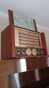 Stromberg Carlson 1956 - 8v., Rádio Portátil Internacional