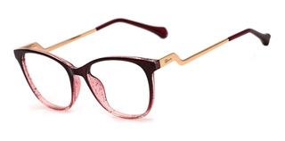 Armação Oculos Ogrife Og 997-c Feminino Com Lente Sem Grau