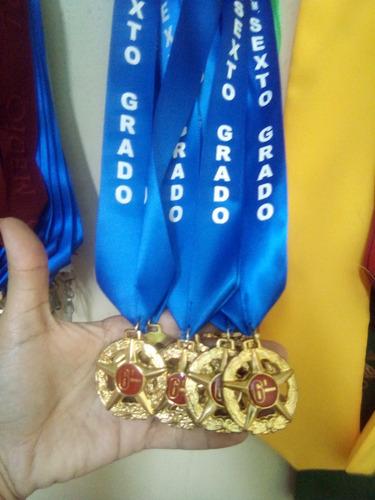 Medallas Redondas 5 Puntas