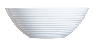 Ensaladera Bowl Luminarc Harena Blanco 27 Cm- Cuotas