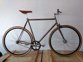 Bicicleta Fixie Single Speed Rod 28 Cuadro Italiano
