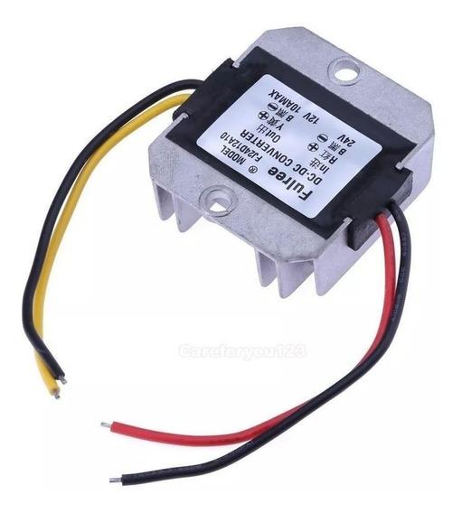 Transformador Conversor Dc Entrada 24v Saída 12v 10a 120w
