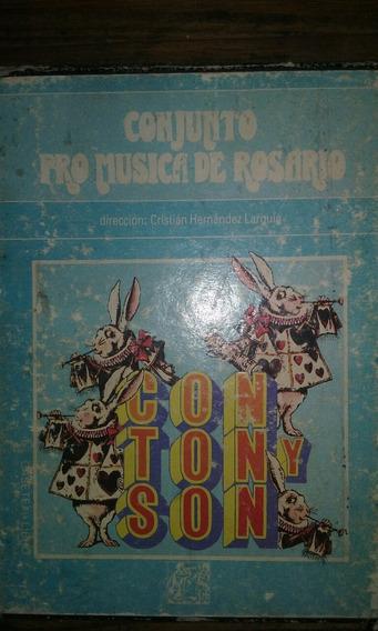 Cassete Conjunto Pro Musica De Rosario..con Ton Y Son..estuc