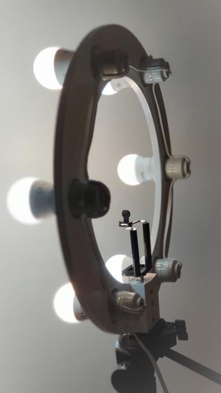 03 Rings Light 06 Lampadas Led 2em1 + Tripé + Kit Selfie