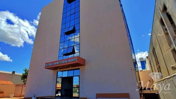 Sala Comercial Com 51 M² Na 104 Sul - Centro Empresarial Norte - Sa0004