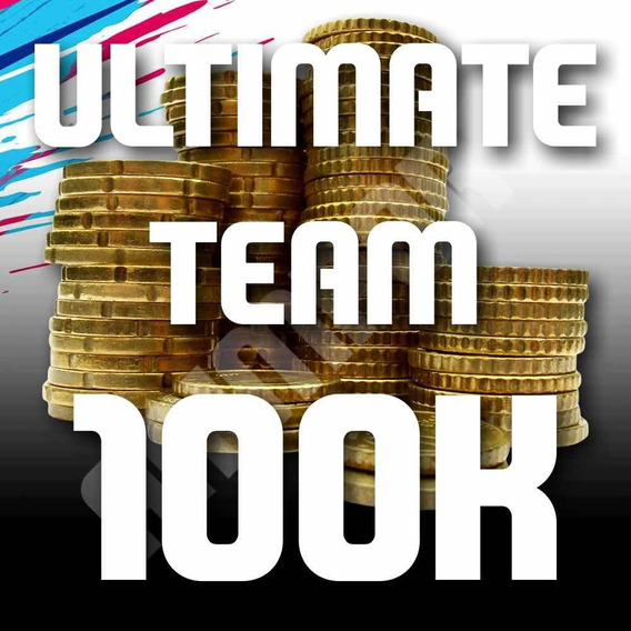 100k Fifa Coins Ultimate Team 19 (ps4)