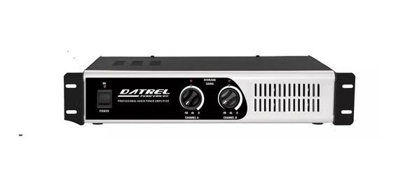 Amplificador De Potencia Profissional 400w Rms Total Datrel