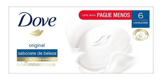 Sabonete Em Barra Dove Original 90g - 6un