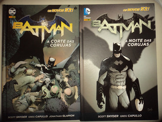Batman A Corte + A Noite Das Corujas Capa Dura Panini Excele