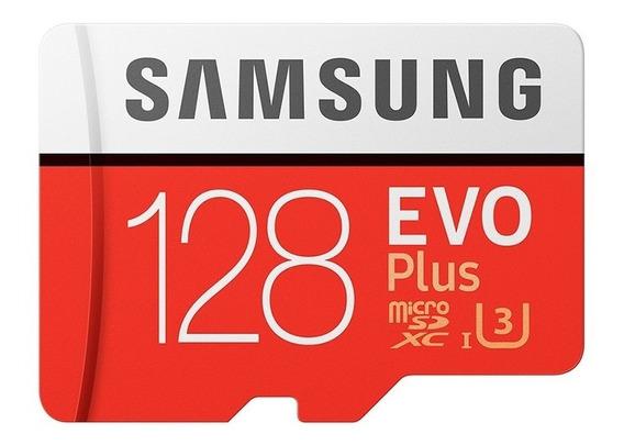 Cartão Samsung Micro Sd 100mb/s 128gb Sd Galaxy A8 A8+ J7